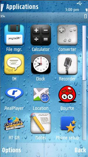 Tema iPhone 4 para Nokia