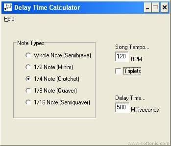 Delay Time Calculador