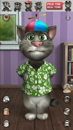 Telecharger tom le chat gratuit sur mobile