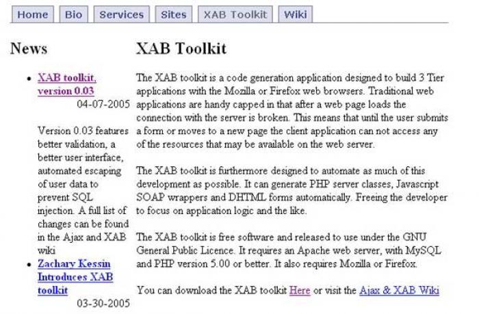 XAB Toolkit