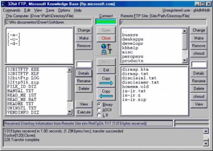 32bit FTP