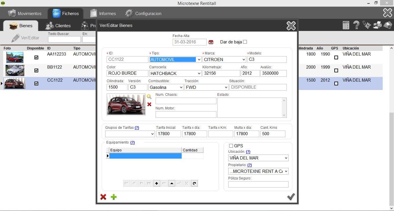 RentitAll Rent a Car Beta