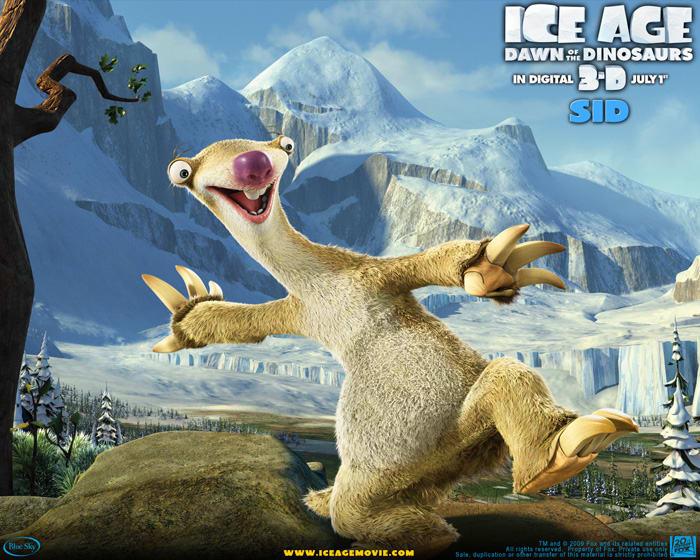 Tapeta Ice Age 3