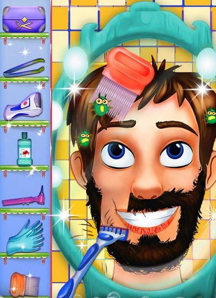 Hairy Face Salon