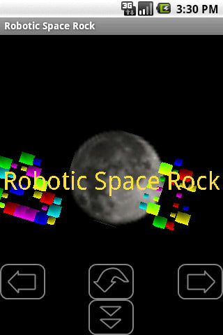 Robotic Space Rock
