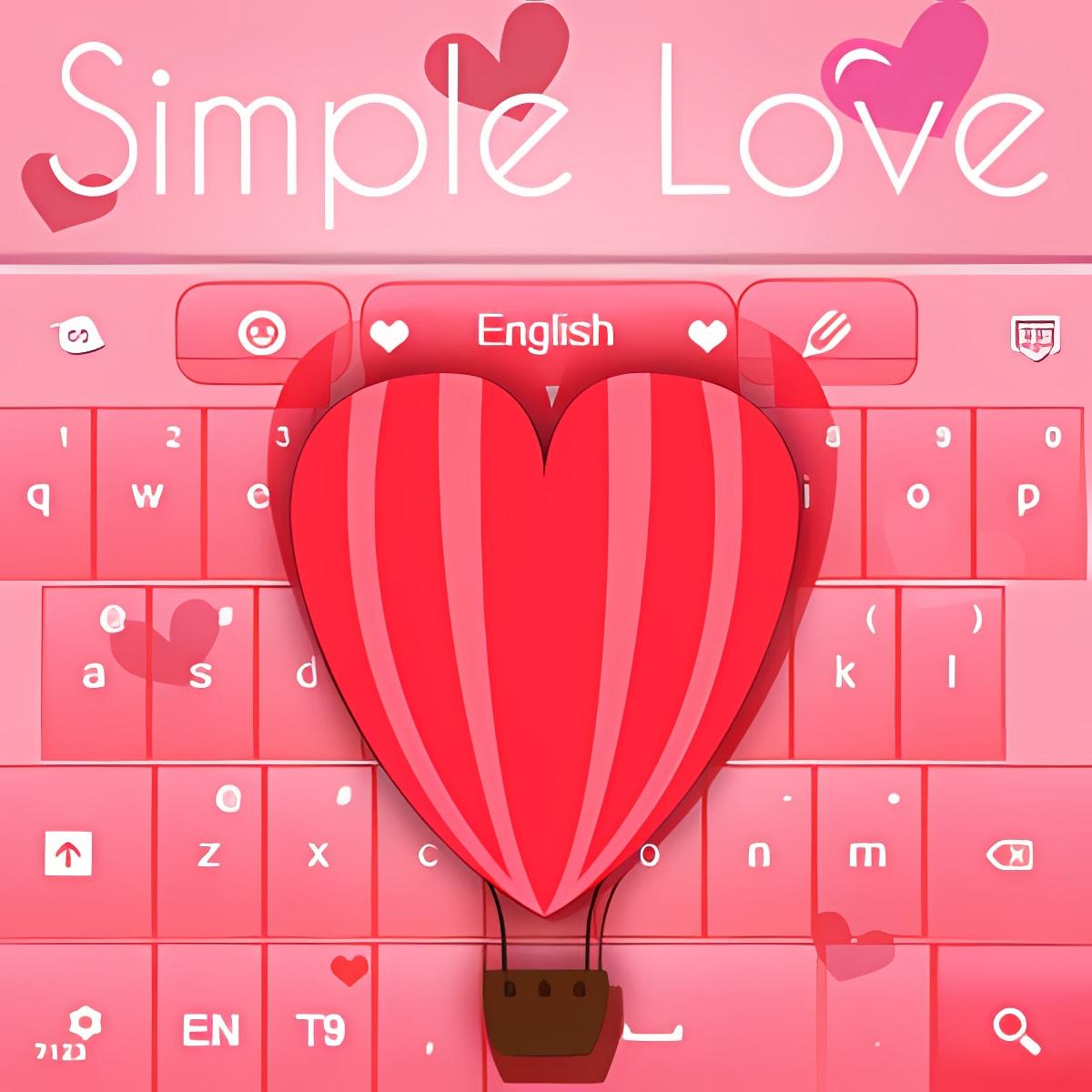 Teclado Love Theme simple