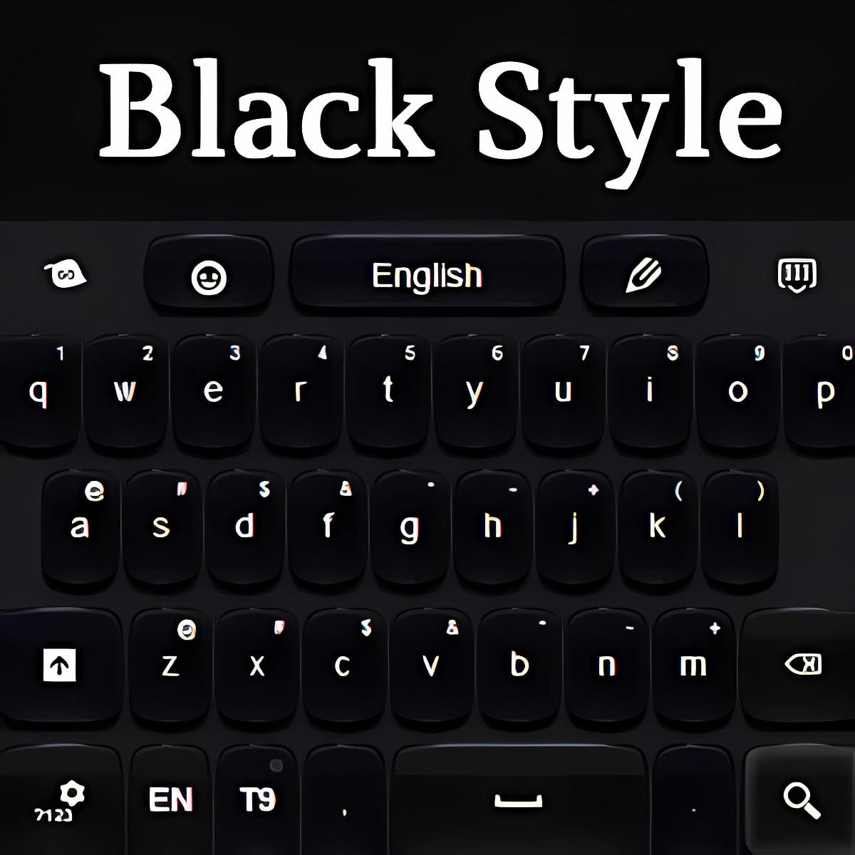 Estilo Negro Teclado
