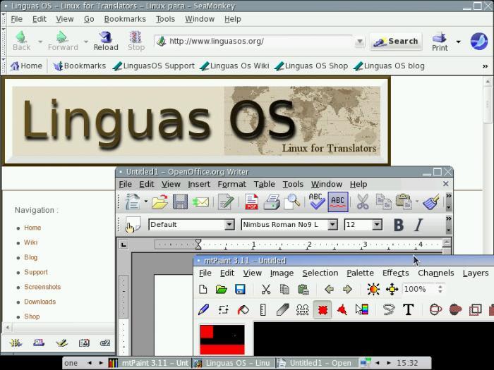 Linguas OS