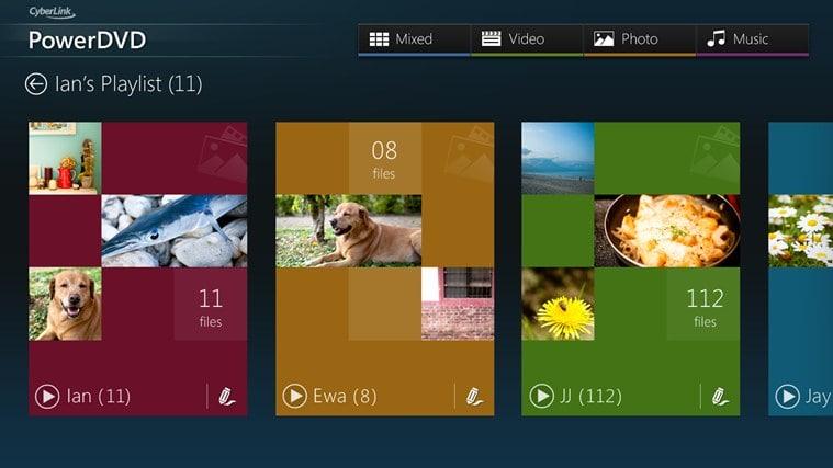 PowerDVD Mobile para Windows 10