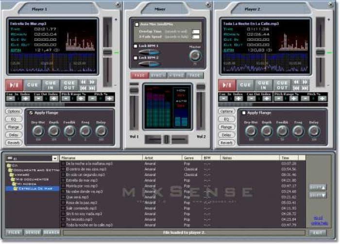 mixSense DJ Studio
