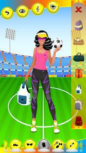 chica deporte juegos de vestir