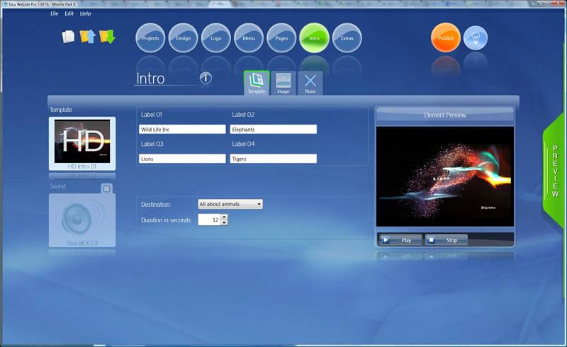 PhotonFX Easy Website Pro