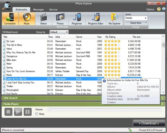 Software4u iPhone Explorer