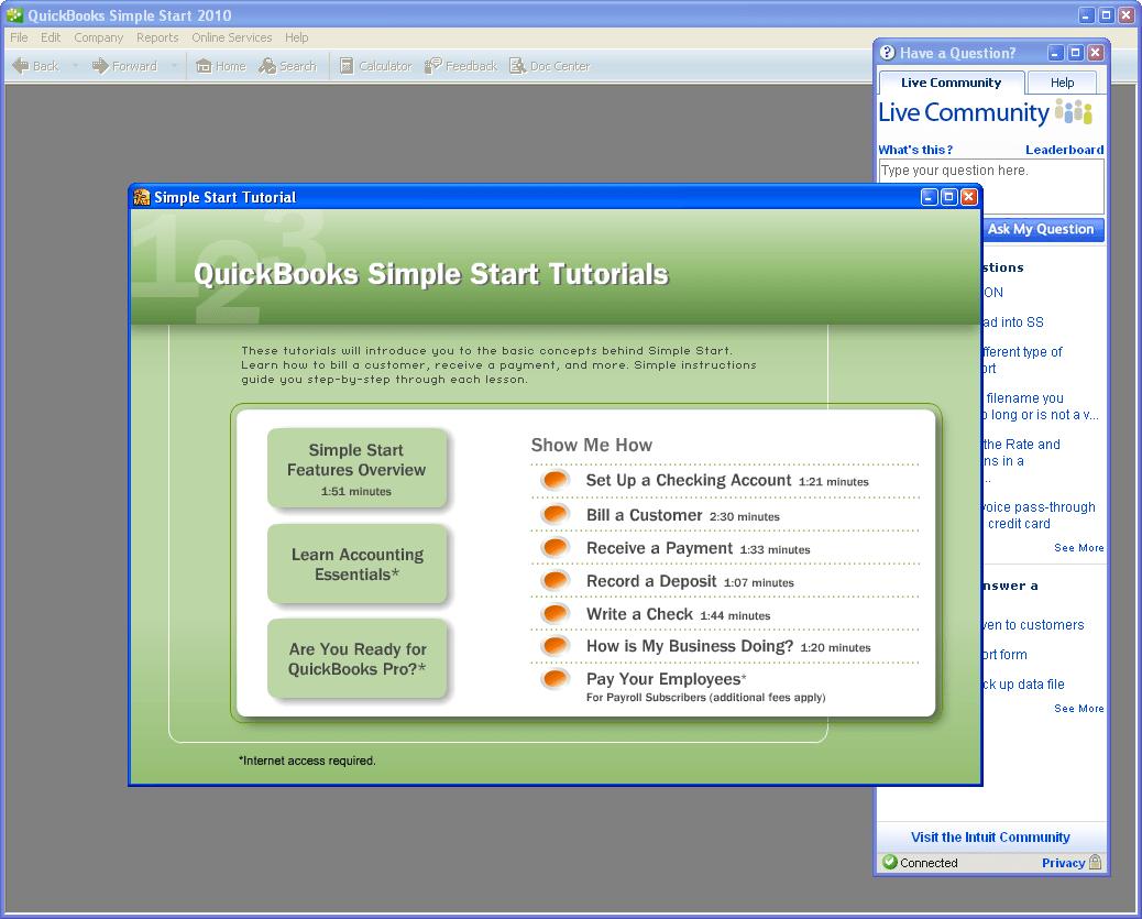 QuickBooks Simple Start