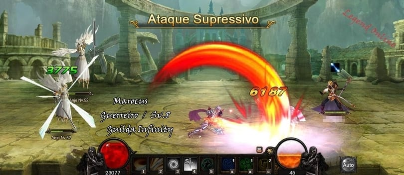 Launcher de Legend Online
