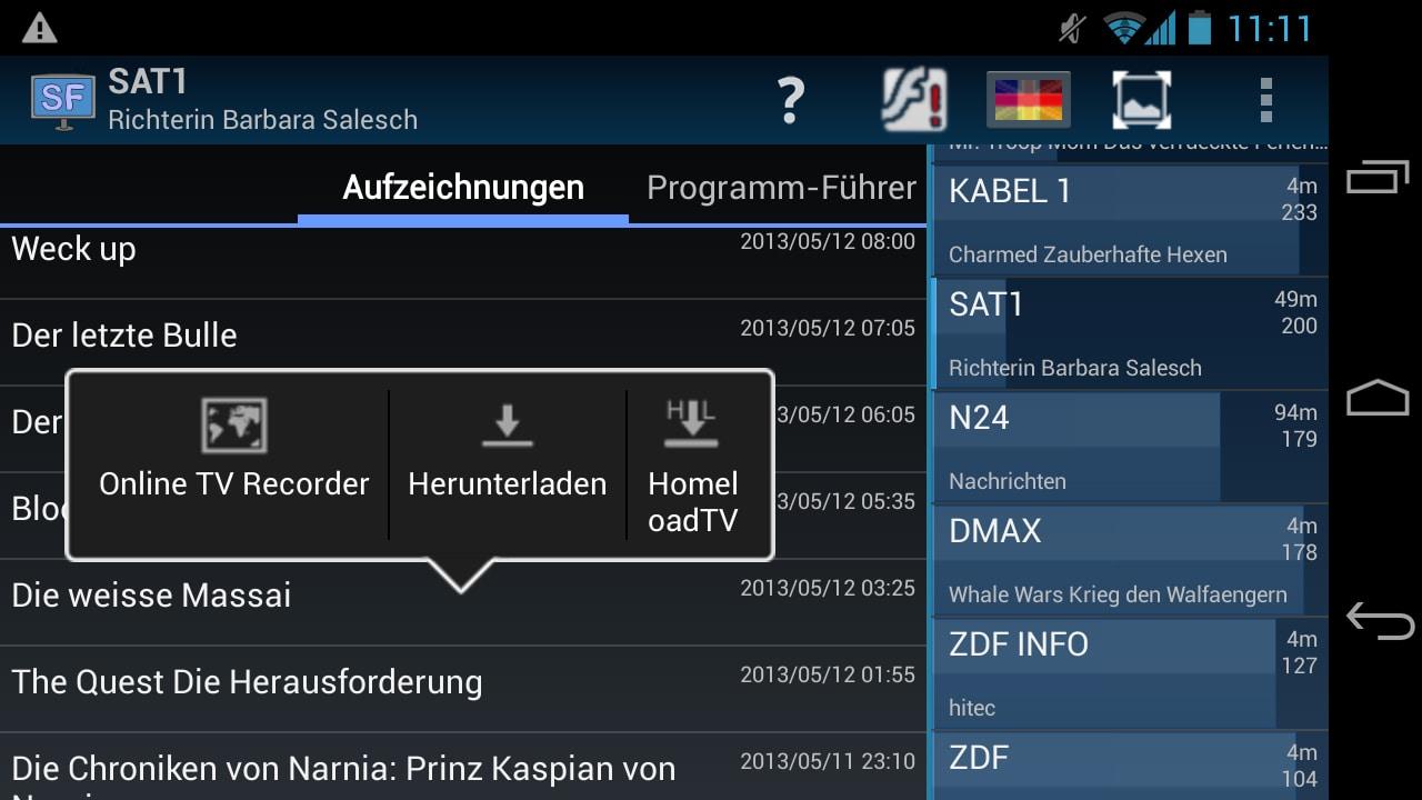 Schoener Fernsehen für Android - Download