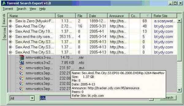 Torrent Search Expert
