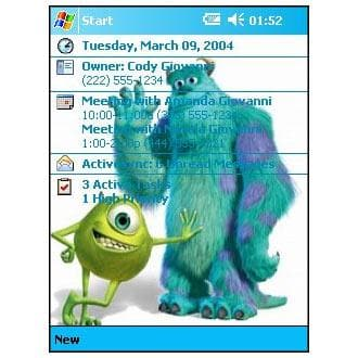 Monsters Inc. - Mike and Sully