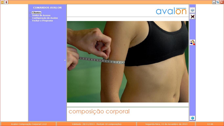 Avalon CompCorp - Composição Corporal