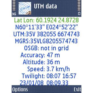 UTM data