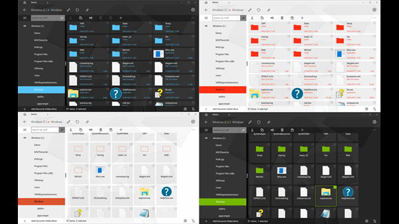 Modern File Explorer